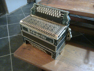 The first automatic accordion Corbinola