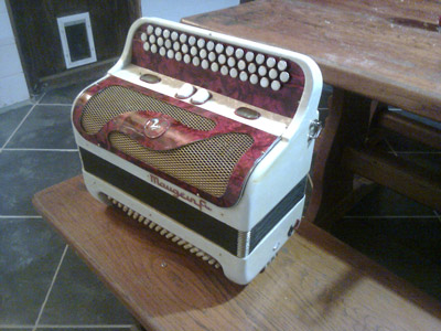 Another self-playing Corbinola accordion